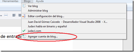 Agregando un blog