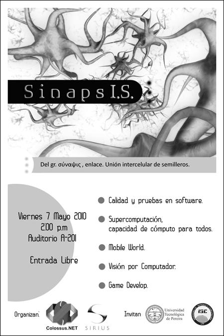 sinapsis evento colossus.net y sirius