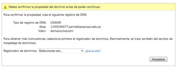 verificar dominio live@edu