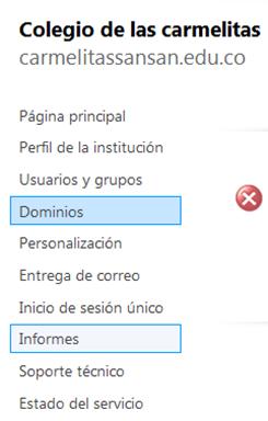 configurar dominios en live@edu