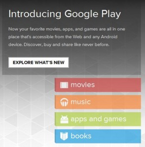 google play content